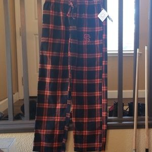 ⚾️ NWT SF Giants PJ flannel bottoms